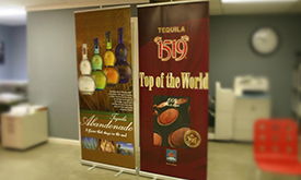 Stand Up Banners - Different Sizes Available